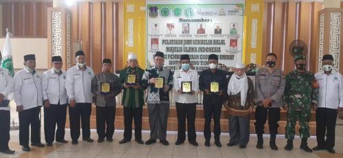 Sosialisasi Juru Sembelih Halal bersama MUI Tebingtinggi. dihadiri oleh Sekda, ketua DPRD Tebingtinggi. Kegiatan dilaksanakan pada tanggal 18 Nopember 20.